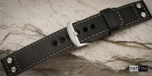 Leather watch strap mod.66 example (04)