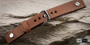 Leather watch strap mod.58 example (04)