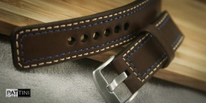 Leather watch strap mod.55 example (13)