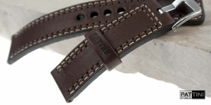 Leather watch strap mod.55 example (11)