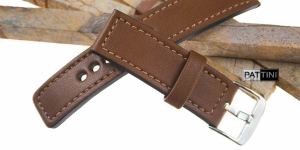 Leather watch strap mod.67 example (05)