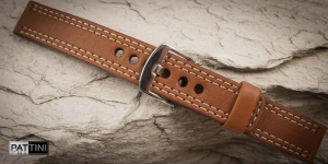 Leather watch strap mod.55 example (10)