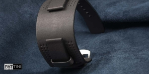 Leather wide watch strap mod.13 example (05)