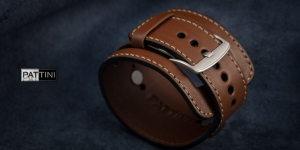 Leather wide watch strap mod.15 example (10)