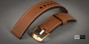 Leather watch strap mod.60 example (04)