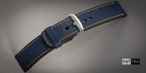 Leather watch strap mod.60 example (05)