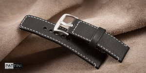 Leather watch strap mod.60 example (06)
