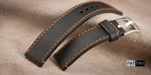 Leather watch strap mod.60 example (07)