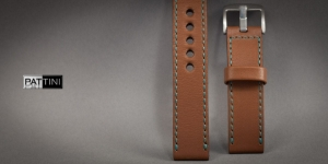 Leather watch strap mod.63 example (14)