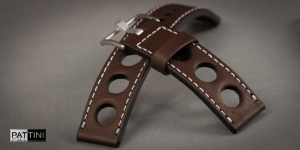 Leather watch strap mod.65 example (29)
