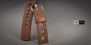 Leather watch strap mod.65 example (30)