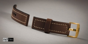 Leather watch strap mod.67 example (09)