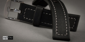 Leather watch strap mod.67 example (07)