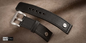 Leather watch strap mod.77 example (01)