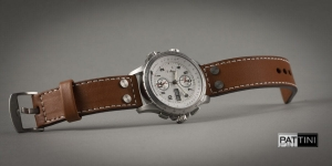 Leather strap for Hamilton watch mod.78 example (02)