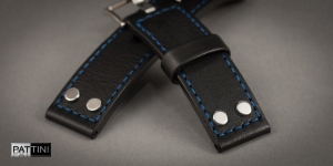 Leather watch strap mod.78 example (04)