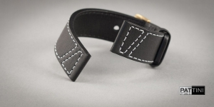 Leather watch strap mod.79 example (02)