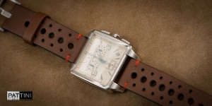 Leather strap for Tissot  watch mod.81 example (03)