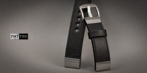 Leather watch strap mod.100 example (01)