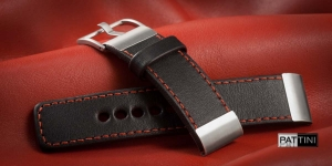 Leather watch strap mod.100 example (02)