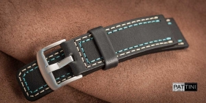 Leather watch strap mod.55 example (21)