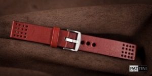 Leather watch strap mod.56 example (03)