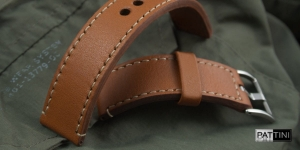Leather watch strap mod.60 example (01)