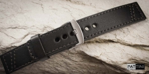 Leather watch strap mod.79 + modification