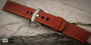 Leather watch strap mod.60 example (08)