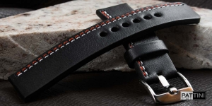 Leather watch strap mod.61 + modification