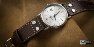Leather strap for Rochemont watch mod.66 example (02)