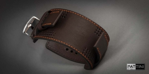 Leather wide watch strap mod.13 example (06)