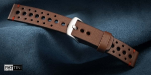 Leather watch strap mod.81 + modification