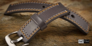 Leather watch strap mod.55 example (04)