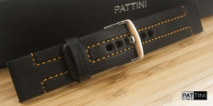 Leather watch strap mod.62 example (01)
