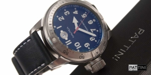 Leather strap for Nautica watch mod.63 example (01)