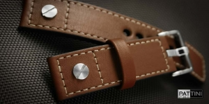 Leather watch strap mod.58 example (02)