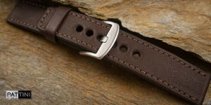 Leather watch strap mod.63 example (05)