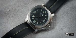 Leather strap for Marina Militare watch mod.59 example (02)