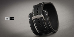 Leather wide watch strap mod.15 example (06)