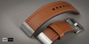 Leather watch strap mod.103 + modification