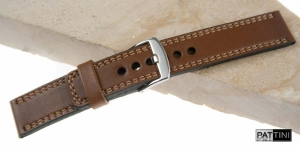 Leather watch strap mod.55 example (05)