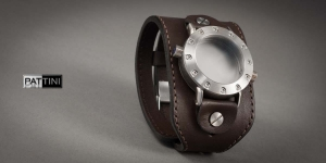 Leather wide watch strap mod.15 example (02)