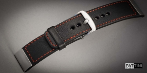 Leather watch strap mod.104 + modification