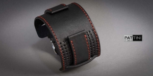 Leather wide watch strap mod.13 example (07)
