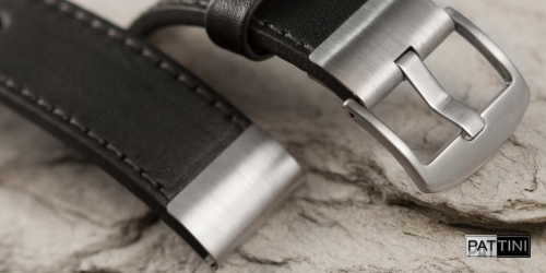 watch strap with metal tip