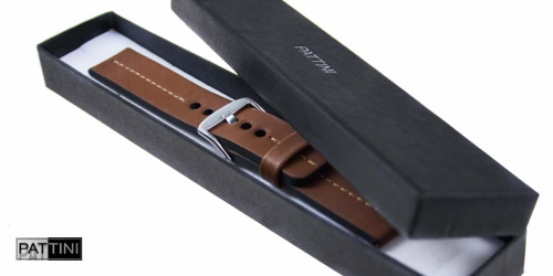 watch strap brown + box