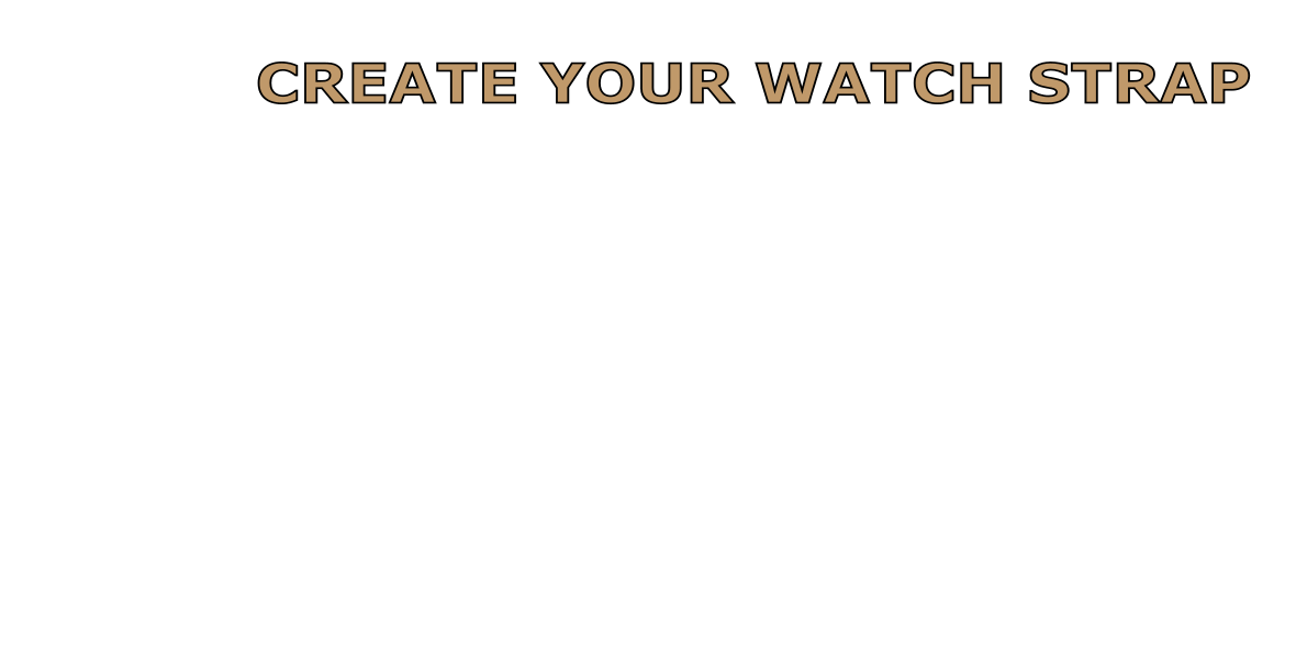 create your watch strap